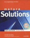 z.Matura Solutions Upper Intermediate Students book (stare wydanie)