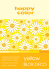 Blok deco yellow A4,20 ark.170g,5kolc3717 2030-012