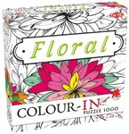 COLOR IN PUZZLE FLORAL