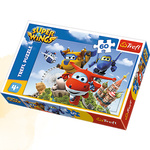 Puzzle 60 Lot dookoła świata. Super Wings