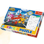 Puzzle Color 20 Gotowi do odlotu. Super Wings