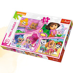 Puzzle 24 Maxi nick Jr Multi - Property