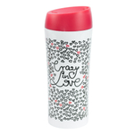 Kubek termiczny 400ml - Crazy in love - AM-LOVE