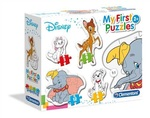 Moje pierwsze puzzle 3-6-9-12 animal friends