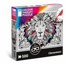 Puzzle 500 3D color therapy -lion