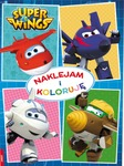Super Wings - naklejam i koloruję